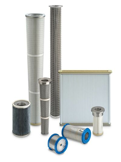 Filter elements with certificate according to REG (EC) 1935 and US FDA