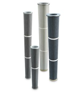 Filter Cartridges Ø 120, 160, 185 mm Conical